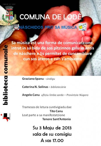 lodè, graziano spanu, Caterina N. Solinas, nati per la musica, lingua sarda, biblioteca, libri, musica, tenore sant'antonio, tito canu, ufìtziu limba sarda, angelo canu