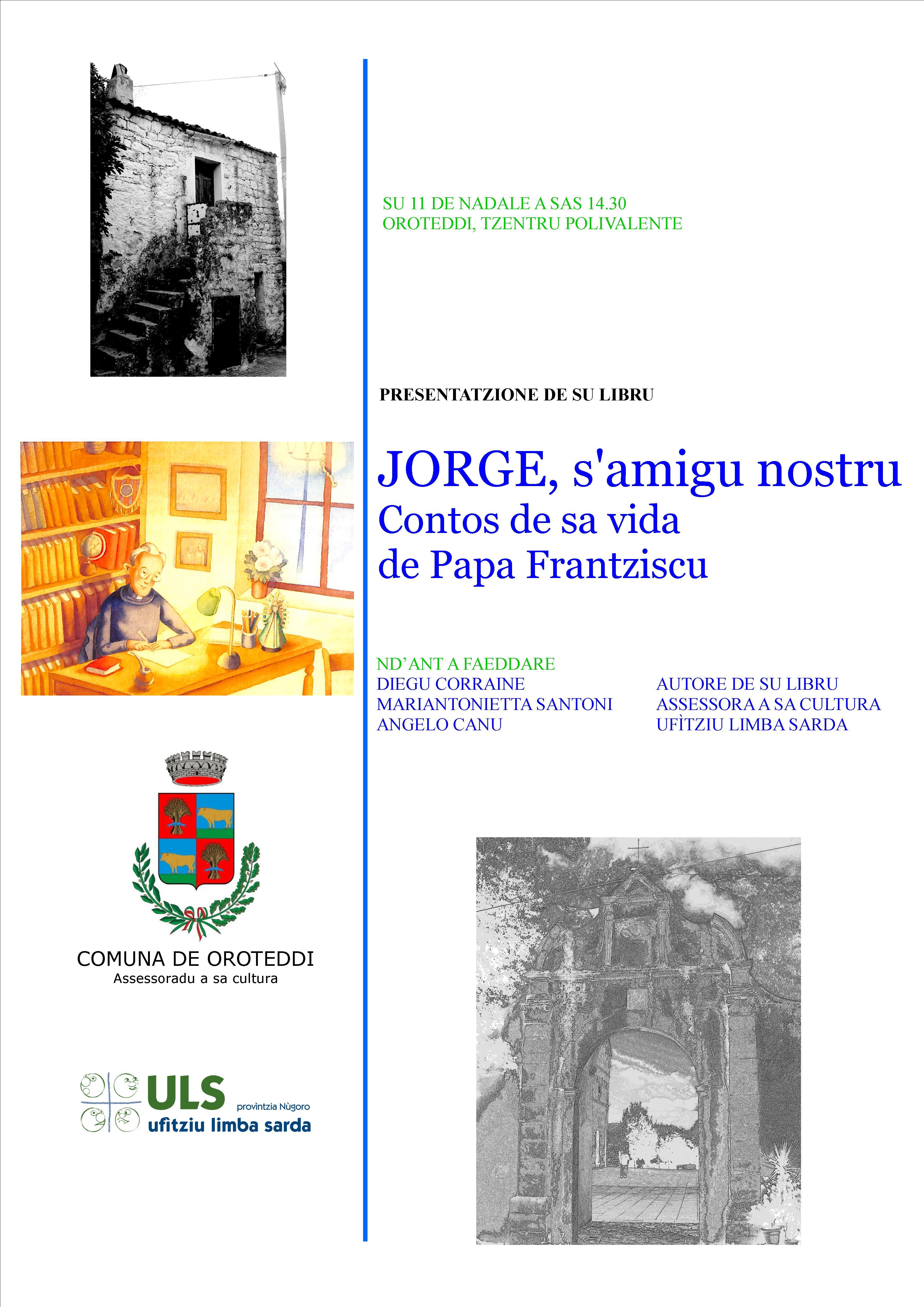 Locandina presentada Jorge