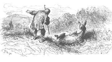 l'asino e il vecchio
